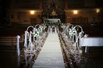 dekoracje na ślub, kościoła, sali, bukiety, Kwiatowe marzenie, Dekoracje ślubne Baranów Sandomierski