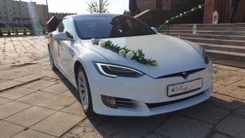 Tesla Do Ślubu    100% elektryczna, Samochód, auto do ślubu, limuzyna Szadek