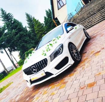 PIĘKNY Mercedes Cla AMG💥MEGA PROMOCJA PAKIET LISTOPAD 450zl/4h 💥, Samochód, auto do ślubu, limuzyna Limanowa