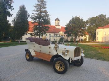 Samochód auto do ślubu retro bryczka powóz sesje, Samochód, auto do ślubu, limuzyna Oleśnica