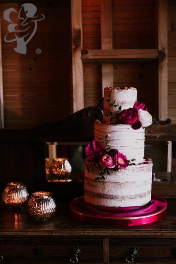 Torty weselne i słodki stół od AF Pastry, Tort weselny Stryków