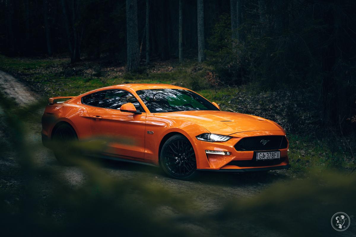 Ford Mustang GT 5.0 - poprowadź sam., Samochód, auto do ślubu, limuzyna Gdynia