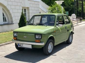 Polski Fiat 126p 1978, Samochód, auto do ślubu, limuzyna Sulejówek