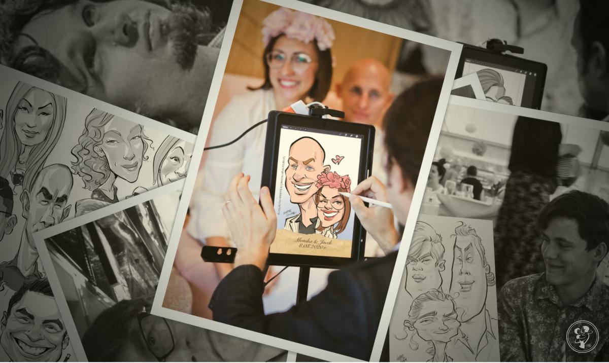Pracownia Karykatury - Karykaturzysta Rysujący na Żywo na iPadzie! :D, Warszawa - zdjęcie 1