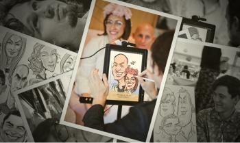 Pracownia Karykatury - Karykaturzysta Rysujący na Żywo na iPadzie! :D, Unikatowe atrakcje Warszawa