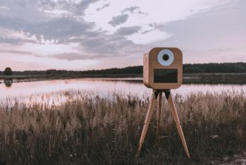 Fotobudka RETRO - WoodenBooth, Fotobudka, videobudka na wesele Lubaczów