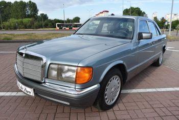 Kultowym Mercedesem S-Class do ślubu, Samochód, auto do ślubu, limuzyna Czersk