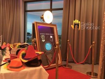 Fotobudki Fotolustro Selfie Shooter - księga gości w każdym pakiecie., Fotobudka, videobudka na wesele Sztum