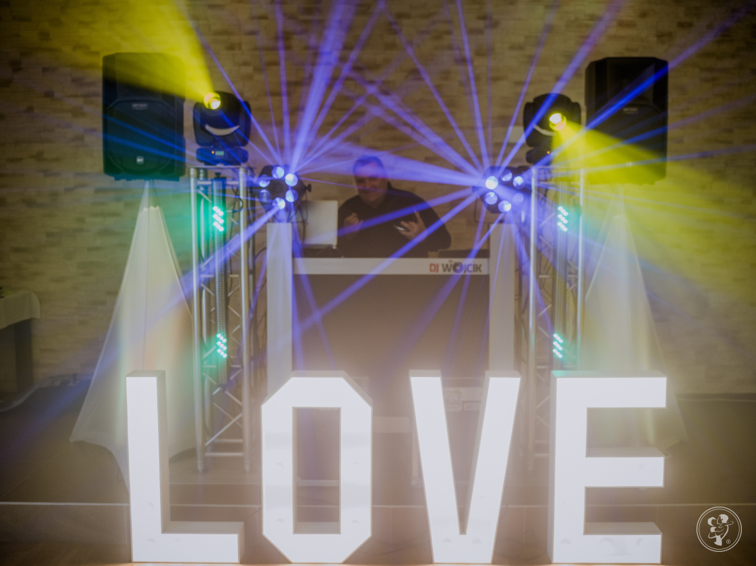 dj Piotr Wójcik na wesele, wodzirej,akordeon,napis LOVE, Krośnice - zdjęcie 1