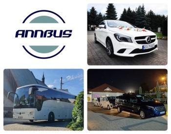 ANNBUS - komfortowy transport gości weselnych, Wynajem busów Kańczuga