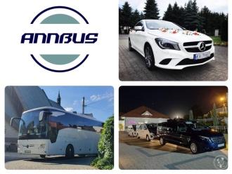 ANNBUS - komfortowy transport gości weselnych,  Kraków