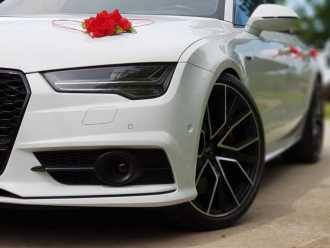 ❤ Auto do Ślubu ❤ BIAŁE AUDI S7 450 KM ❤ Felgi֍`21 Zawiozę KOMPLEKSOWO,  Mińsk Mazowiecki