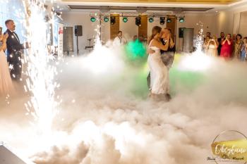 OBCYKANI - fotobudka, ciężki dym, fontanny iskier, Ciężki dym Łódź
