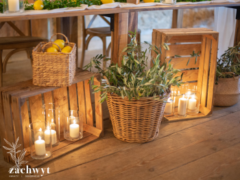 Zachwyt - kwiaty i dekoracje   Śluby, Wesela, Ceremonie Ślubne