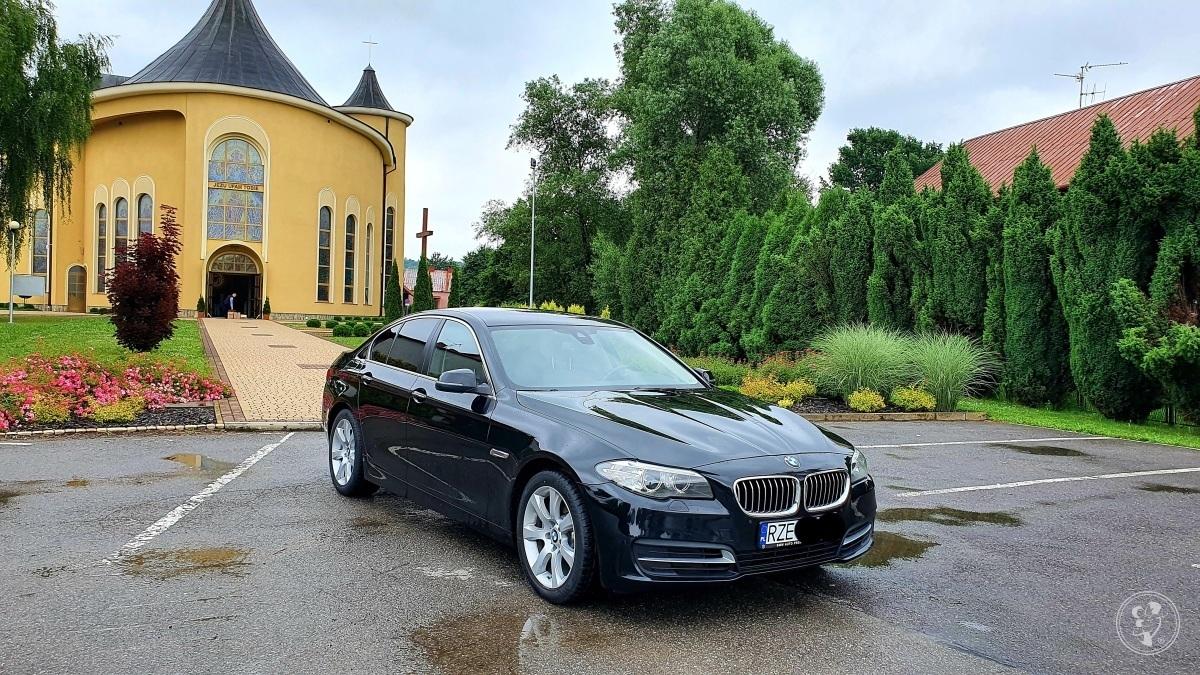 Samochód do ślubu - piękna limuzyna BMW Seria 5, Rzeszów - zdjęcie 1