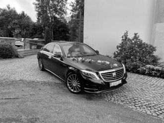 Auto do Ślubu Limuzyna Mercedes klasy S,  Zgorzelec