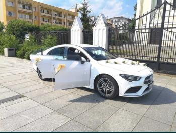 Mercedes CLA - NOWY Egzemplarz 2021r. Mamy terminy :), Samochód, auto do ślubu, limuzyna Góra Kalwaria