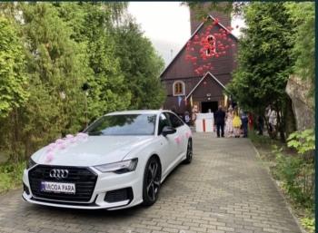 Samochód do ślubu AUDI A6 2019 lub AUDI A7 2015, Samochód, auto do ślubu, limuzyna Szczuczyn