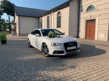Auto samochód do ślubu Audi A5 wynajem, wesele, ! Wolne Terminy, Samochód, auto do ślubu, limuzyna Ełk