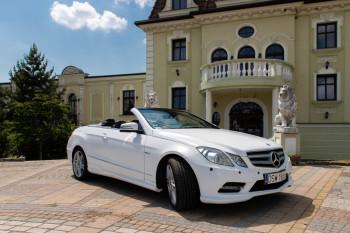 Mercedes Cabrio do ślubu, Samochód, auto do ślubu, limuzyna Oleśnica