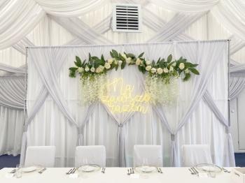 wypozyczalnia-weselna wysyłkowa wypożyczalnia dekoracji, neony, Dekoracje ślubne Hajnówka