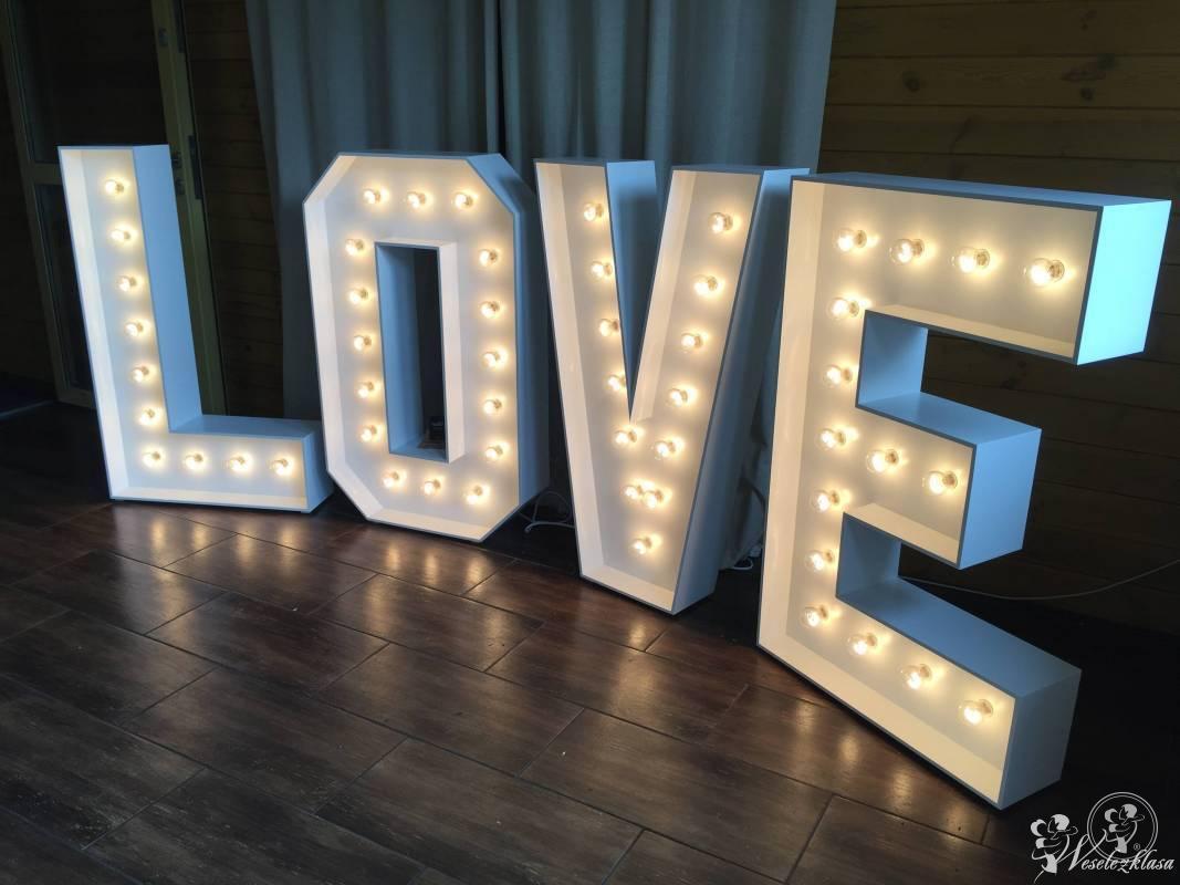 Napis LOVE , Miłość led, Bledzew - zdjęcie 1