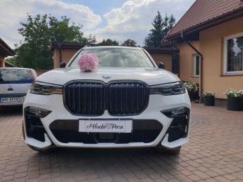 BMW X7, Samochód, auto do ślubu, limuzyna Płońsk