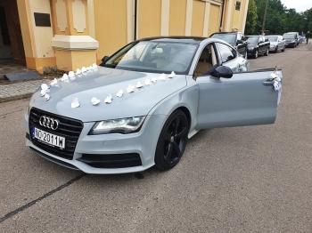 Audi A7 wynajem z kierowcą od 600zł, Samochód, auto do ślubu, limuzyna Nowe Miasto Lubawskie