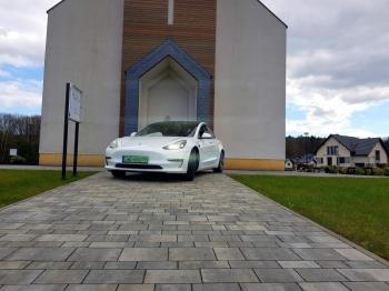 Tesla do ślubu, Samochód, auto do ślubu, limuzyna Radlin