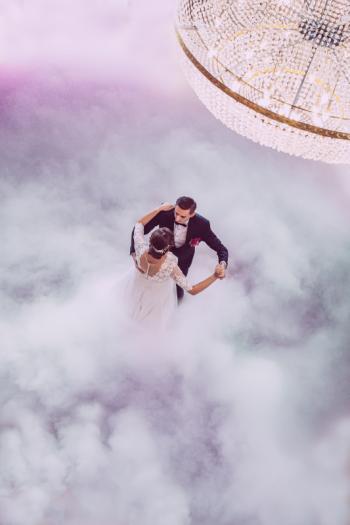 Ciężki dym - taniec w chmurach; bańki; iskry; LOVE; Miłość, Ciężki dym Hrubieszów