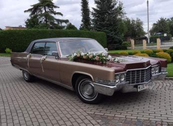 Cadillac Fleetwood i Lincoln Town Car 9 - osobowy, Samochód, auto do ślubu, limuzyna Słupsk