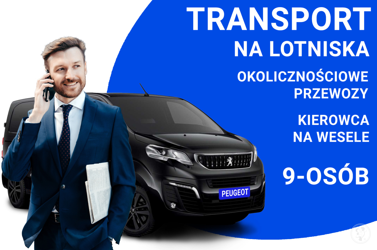 Transport na lotnisko  przewóz osób, Kierowca na wesele, Częstochowa - zdjęcie 1