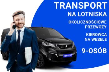Transport na lotnisko  przewóz osób, Kierowca na wesele, Wynajem busów Dąbrowa Górnicza