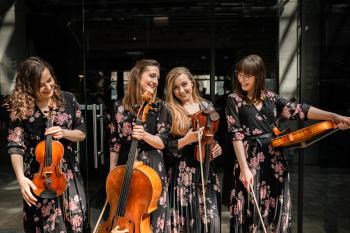 La Belle Quartet - kwartet smyczkowy na Twój ślub, Oprawa muzyczna ślubu Grójec