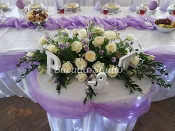 SACADA Studio-Dekoracje weselne,kwiaty,balony,fotobudka,napis LOVE, Dekoracje ślubne Żywiec