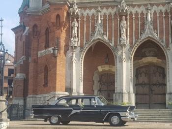(Wołga) Czajka Gaz 13 z 1962 roku - Jedyna taka oferta w Polsce, Samochód, auto do ślubu, limuzyna Wolbrom