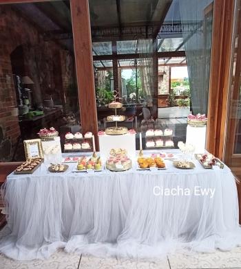 Ciacha Ewy - Wyjątkowy tort weselny i słodki stół na Twoim weselu, Tort weselny Lubsko