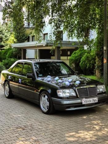 Mercedes W124 , OKAZJA CAŁOŚĆ 450ZŁ- 500ZŁ, Samochód, auto do ślubu, limuzyna Nasielsk