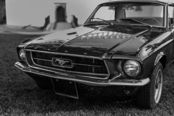 Ford Mustang Klasyk do Ślubu 1967, Samochód, auto do ślubu, limuzyna Zator