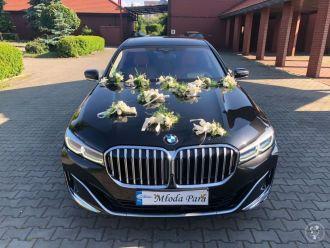 Luksusowa limuzyna BMW 7 long, V8, 590 KM, najnowszy model.,  Zabrze