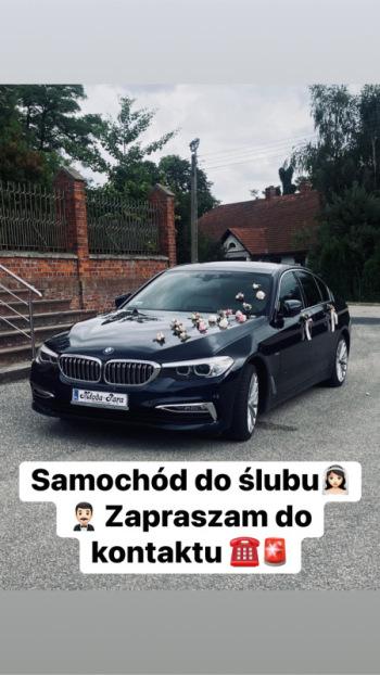 BMW 5 G30, samochód do ślubu, Samochód, auto do ślubu, limuzyna Łaziska Górne