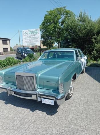 Limuzyna amerykańska do ślubu, Samochód, auto do ślubu, limuzyna Międzychód