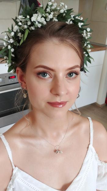 Makijaż ślubny (cruelty free make-up) Marta Długołęcka, Makijaż ślubny, uroda Gdańsk