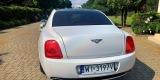 Auto do ślubu - Biały Bentley Continental Flying Spur Perła, Warszawa - zdjęcie 3