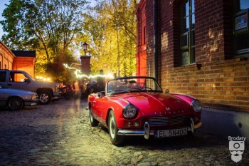 Samochód Zabytkowy Klasyk Triumph Spitfire, Samochód, auto do ślubu, limuzyna Zelów