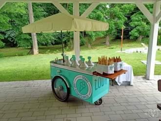 Elegancka riksza - lody rzemieślnicze na Twoim wymarzonym weselu,  Bielsko-Biała