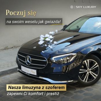 Twój ślub w stylu gwiazd! Wesele z klasą! SKY LUXURY!, Samochód, auto do ślubu, limuzyna Kąty Wrocławskie