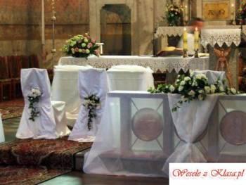 Dekoracje ślubne kościołów, sal, aut, Dekoracje ślubne Kalisz