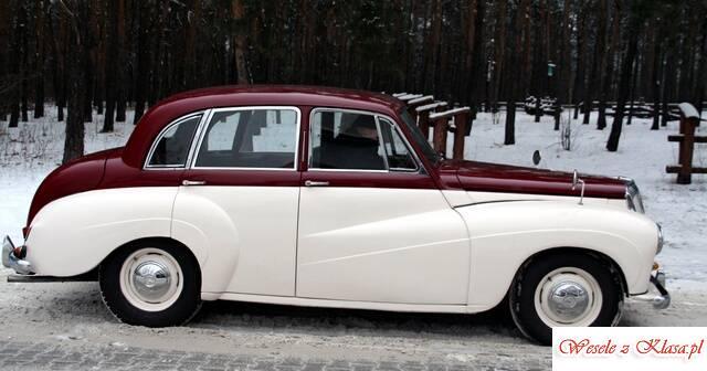 auto zabytkowe wynajmę Daimler QC 1956r, Warszawa - zdjęcie 1