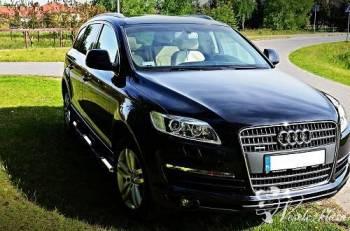 Luksusowe Audi Q7 do ślubu, Samochód, auto do ślubu, limuzyna Obrzycko